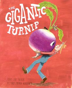 Cover design for the Gigantic Turnip